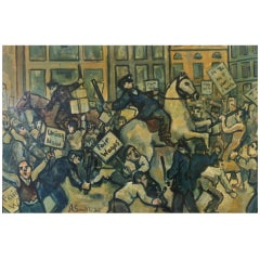Al Smith, Depression Era Riot Scene