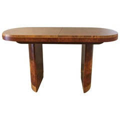 Art Deco Table in the Style of Marcel Guillemard