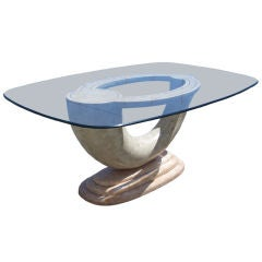 Maitaland-Smith, tesselated Stone Dining Table