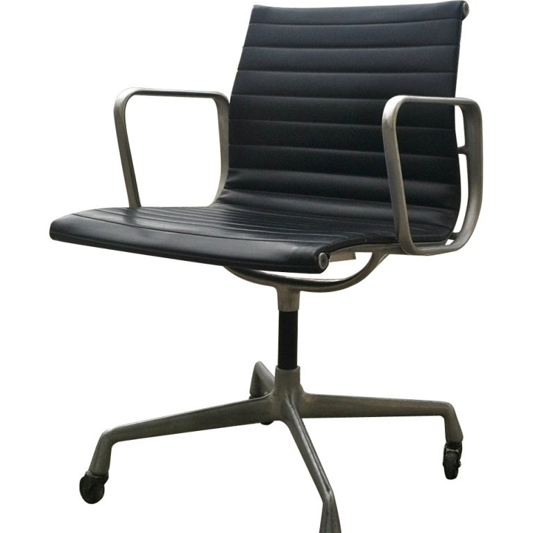 Vintage eames aluminum group chair for herman miller 1958 - Vintage herman miller ...