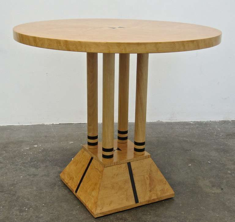 Post Modern Coffee Tables: Post-modern Neoclassical Table In The Stye Of Michael