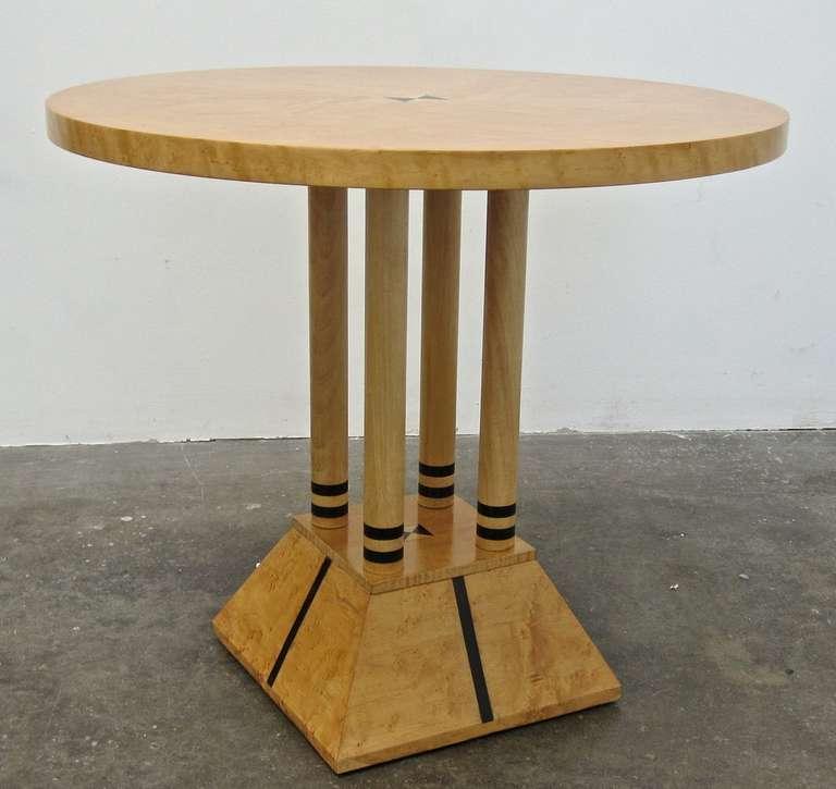 postmodern neoclassical table in the stye of michael
