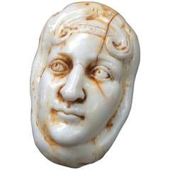 David Best, Bizarre Plastic Assemblage of a Head