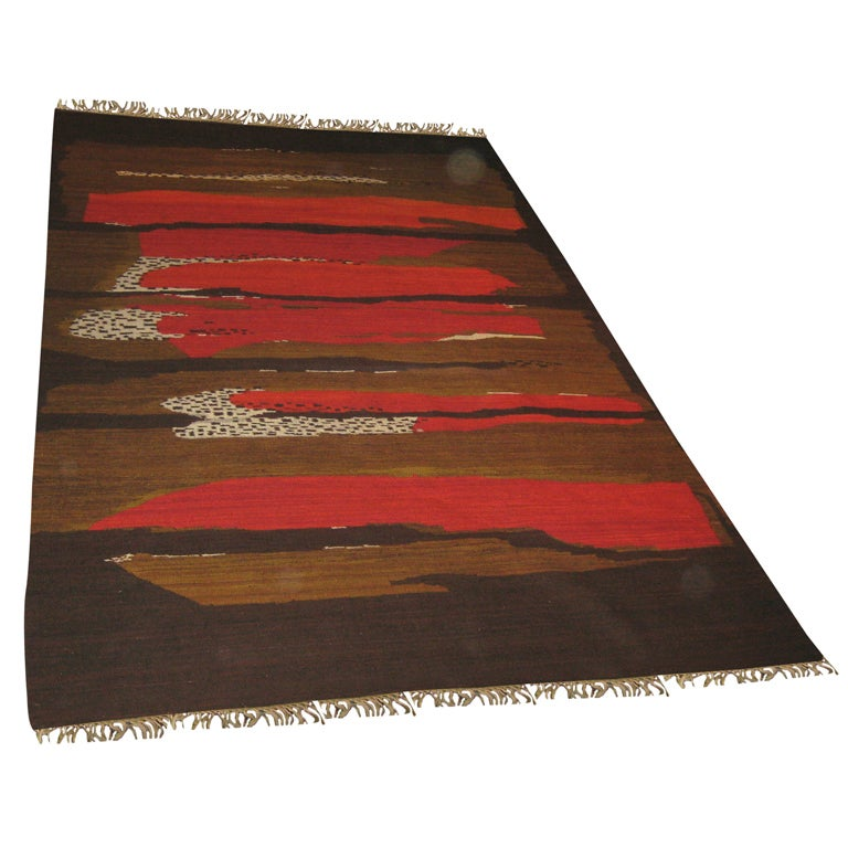 Abstract Modernist Carpet/Tapestry For Sale