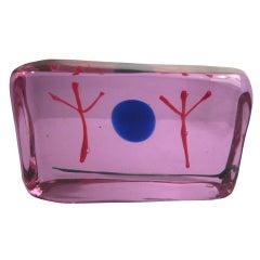 Riccardo Licata Glass Scupture