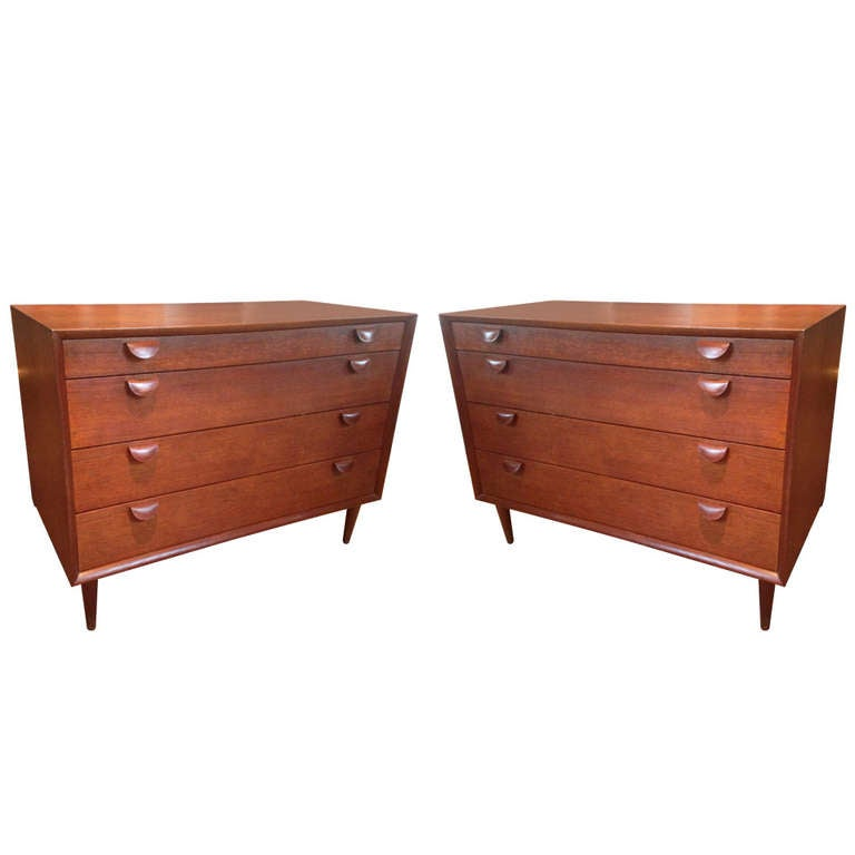 Pair of Grete Jalk Chest of Drawers 1