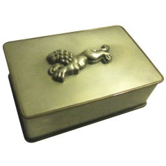 Anna Petrus Pewter and Bronze Box