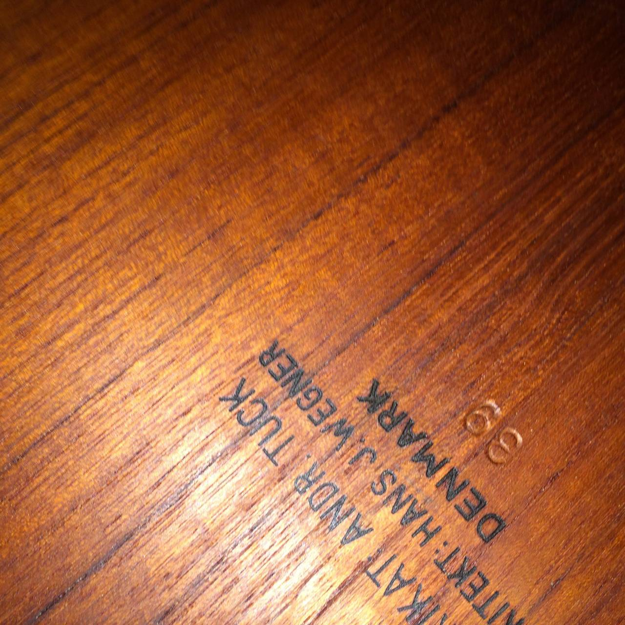 Mid-20th Century Hans Wegner Teak Drop-Leaf Dining Table For Sale