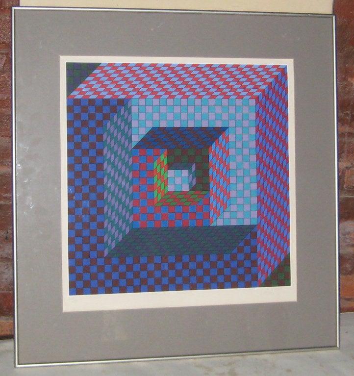 Great example of Vasarely's 'Gestalt