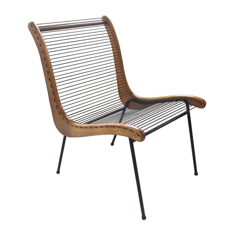 Modernist String Chair By Carl Koch At 1stdibs