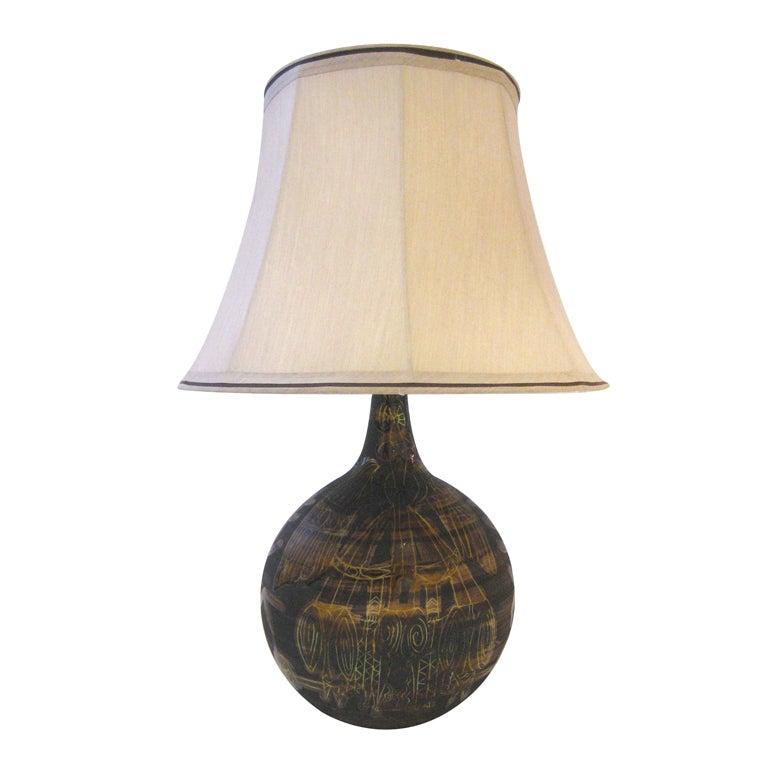 Roger Capron Table Lamp
