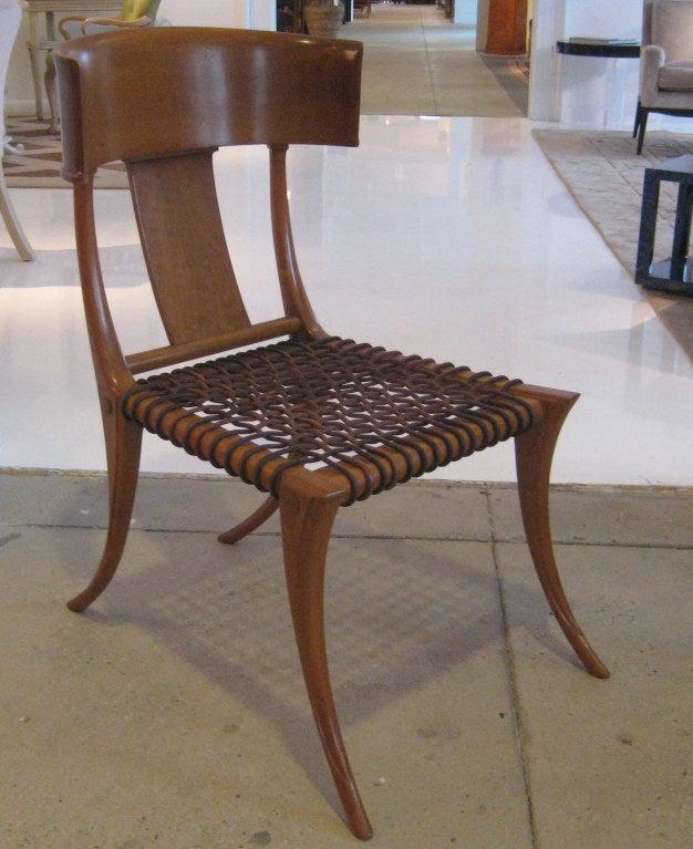 Greek Early Robsjohn-Gibbings Klismos Chair for Saridis For Sale