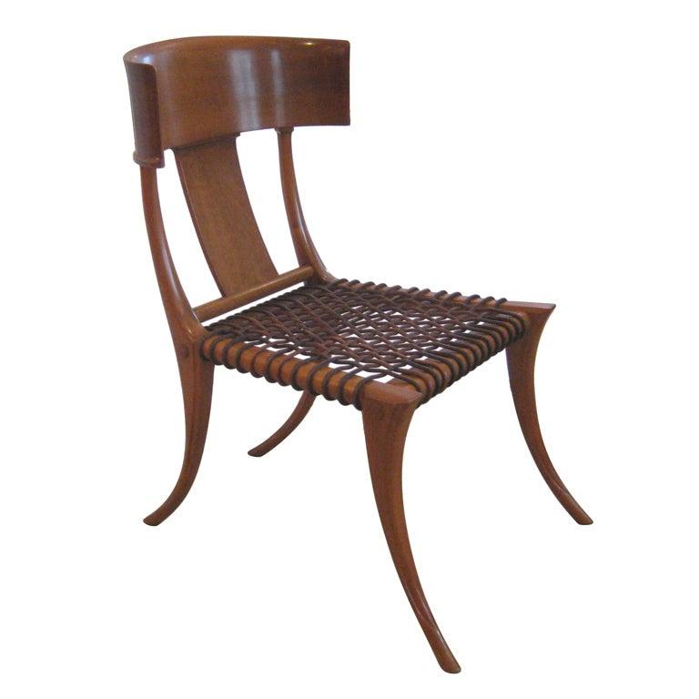 Early Robsjohn Gibbings Klismos Chair for Saridis at 1stdibs