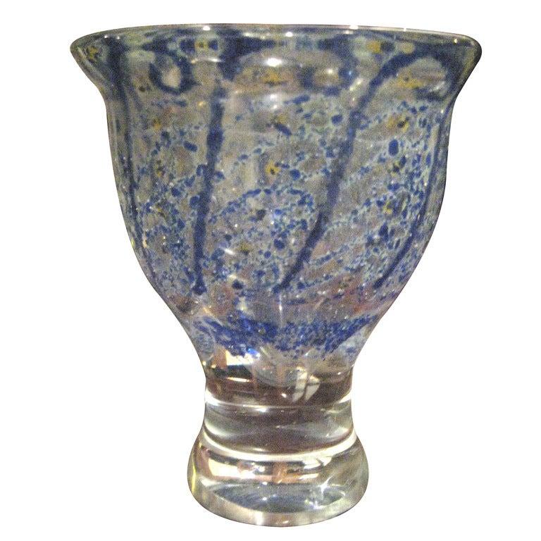 Adries Dirk Copier Unica Vase for Leerdam Glassworks 1