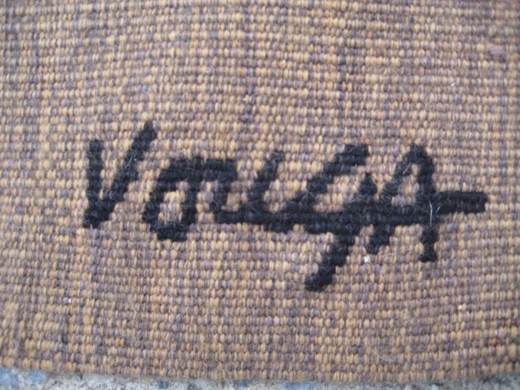 French Michel Vouga Wool Tapestry for Raymond Picaud For Sale