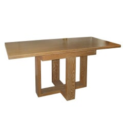 Cerused Oak Flip-top Console Table/Server