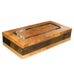 Romeo Rega Olivewood and Chrome Box