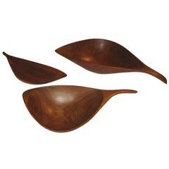 Emil Milan Studio Carved Bowls