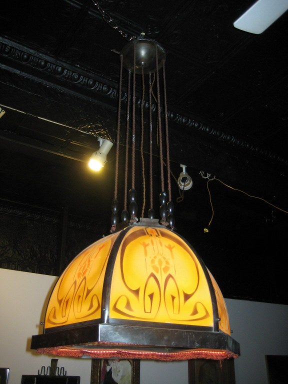 Secessionist Chandelier 2