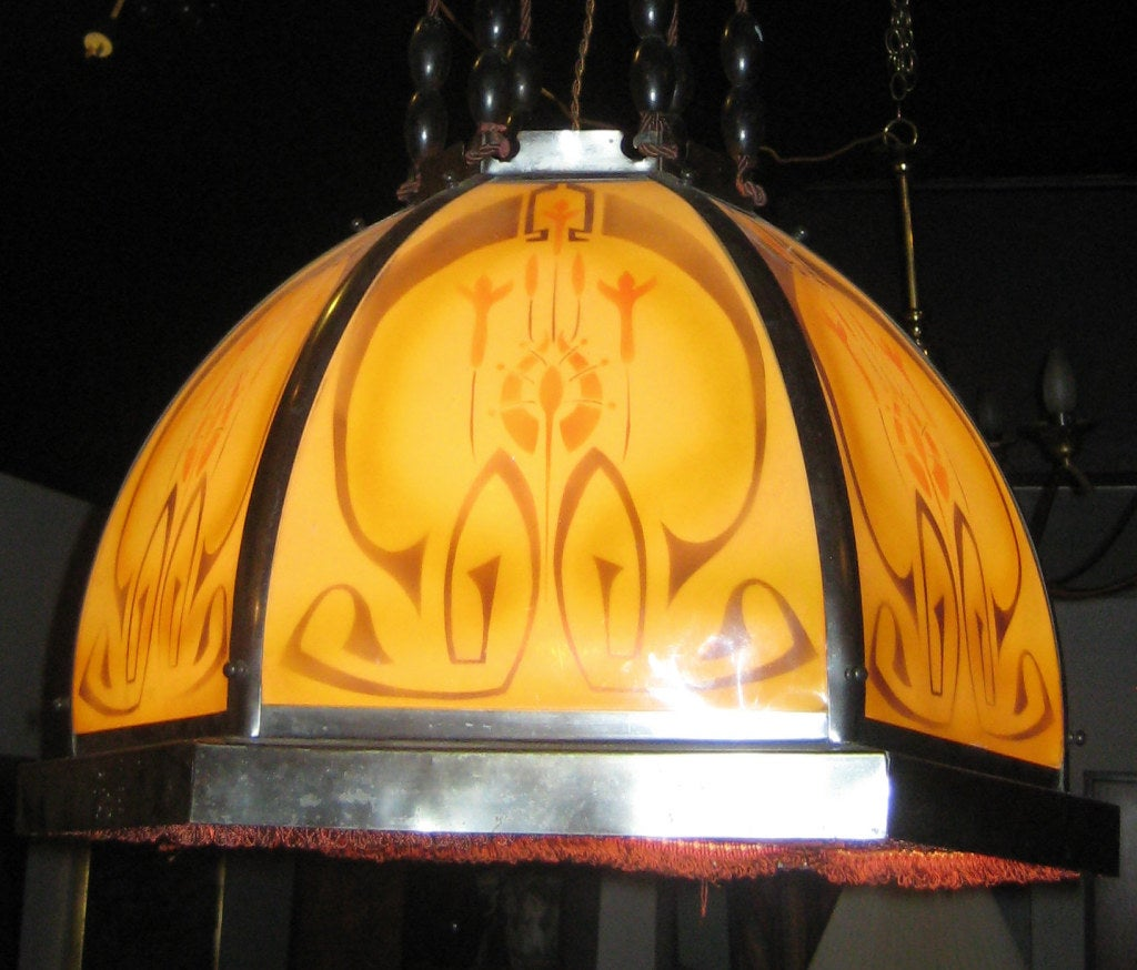 Secessionist Chandelier 3