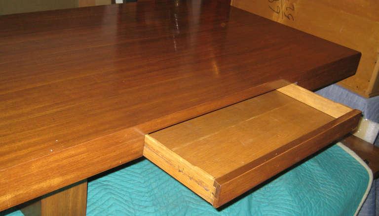 American Early Dunbar Mahogany Coffee Table For Sale