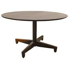 Custom Billy Haines Walnut Cocktail Table