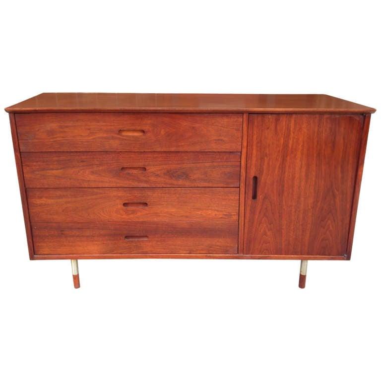 arne vodder sideboard for sibast for sale at 1stdibs. Black Bedroom Furniture Sets. Home Design Ideas