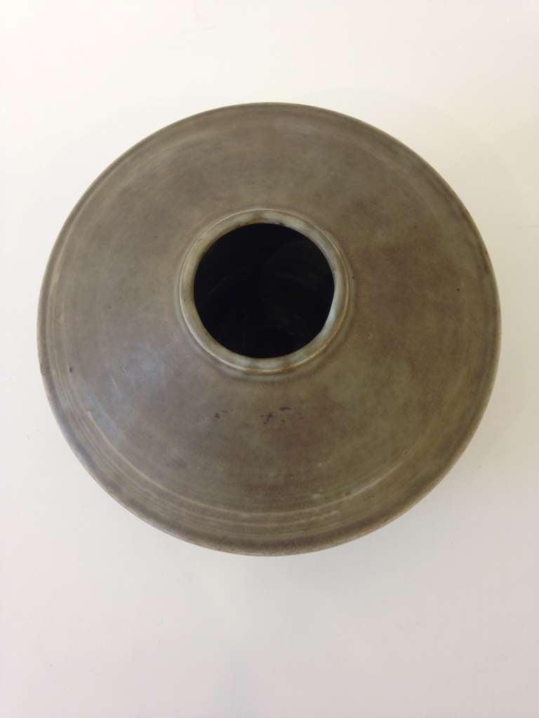 Swedish Carl Harry Stalhane Studio Pottery Vase For Sale