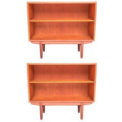 Pair of Børge Mogensen Teak Bookcases