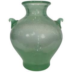 Large and Early Flávio Poli (Attr.) Pulegoso Vase