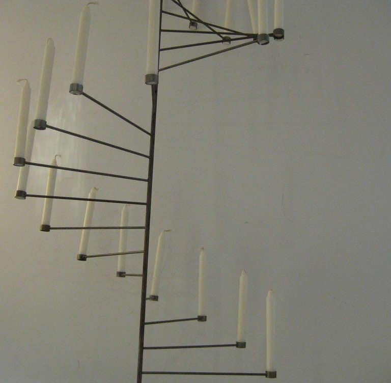 Rare Poul Kjaerholm Hanging Candelabrum 3