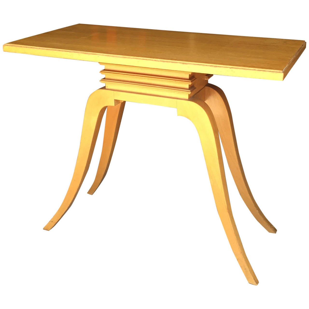 Paul Frankl Mahogany Console Table