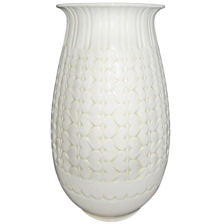 Large Art Deco Sevres Vase For Sale