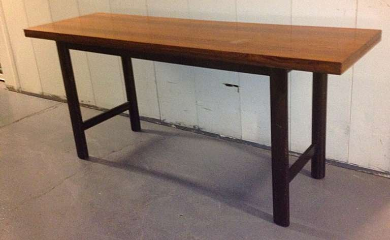 harvey probber flip-top console or dining table for sale at 1stdibs