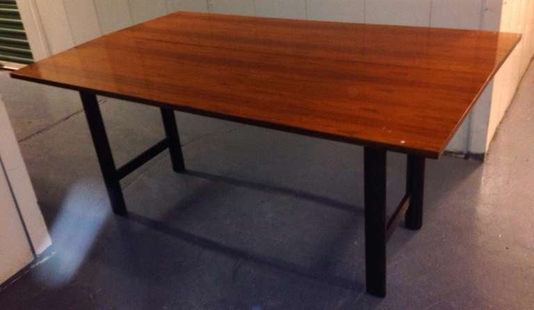 American Harvey Probber Flip-Top Console or Dining Table For Sale