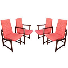 Set of Four Dunbar Side Chairs