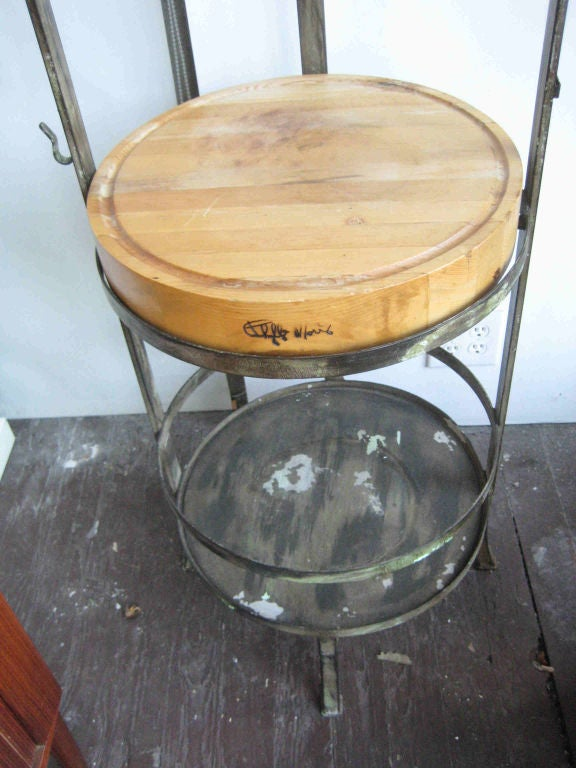 American Phyllis Morris Kitchen Island For Sale
