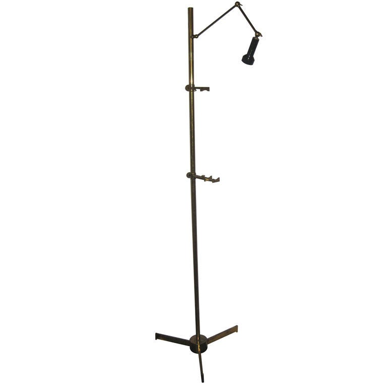 Arredoluce Brass Easel at 1stdibs