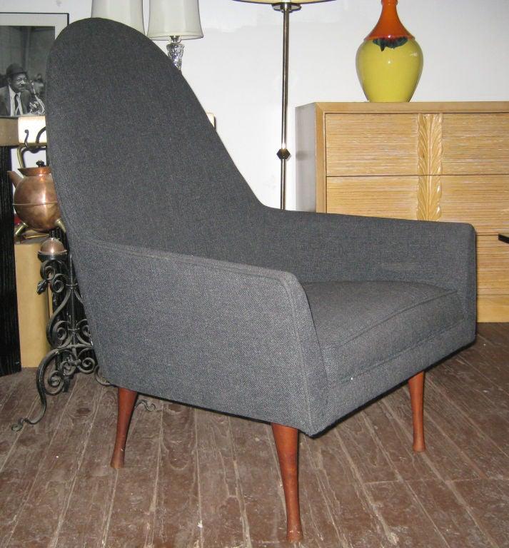 Paul McCobb Highback Lounge Chair for Widdicomb 2