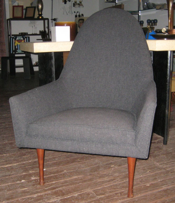 American Paul McCobb Highback Lounge Chair for Widdicomb For Sale