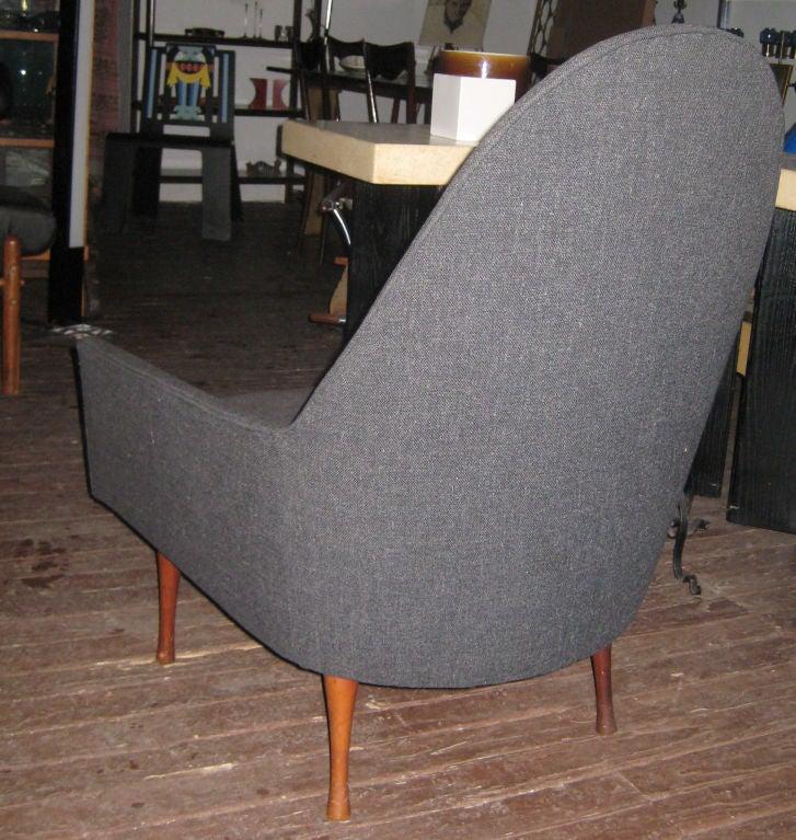 Paul McCobb Highback Lounge Chair for Widdicomb 4