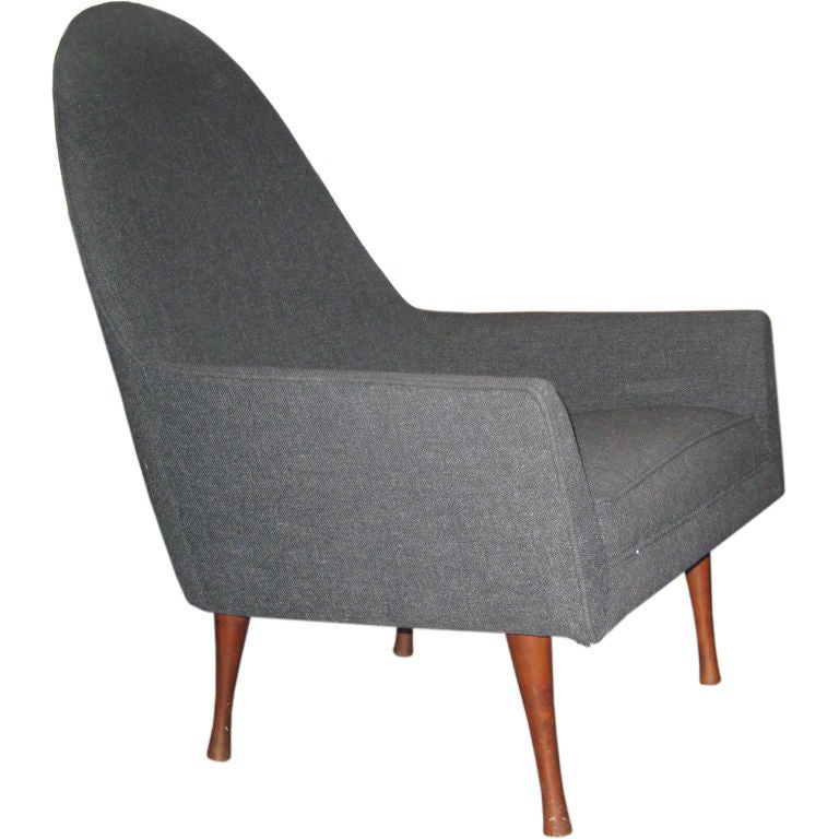 Paul McCobb Highback Lounge Chair for Widdicomb For Sale