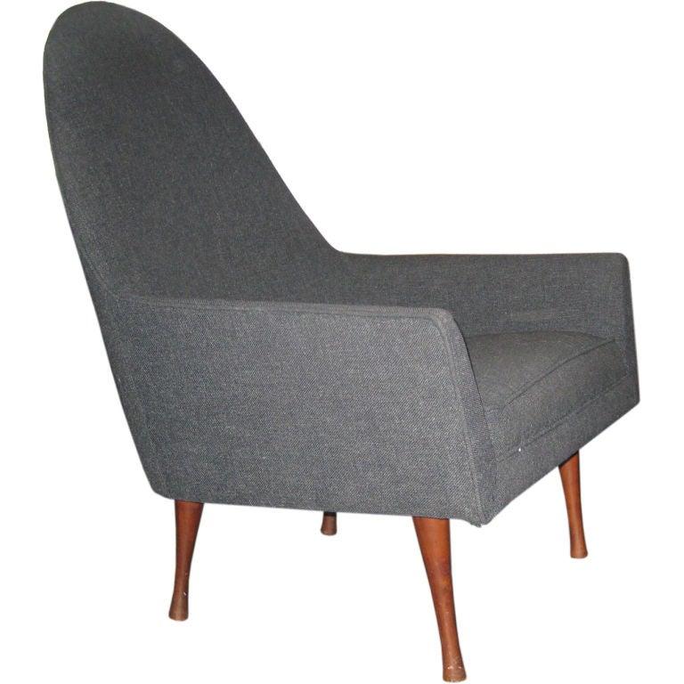 Paul McCobb Highback Lounge Chair for Widdicomb 1