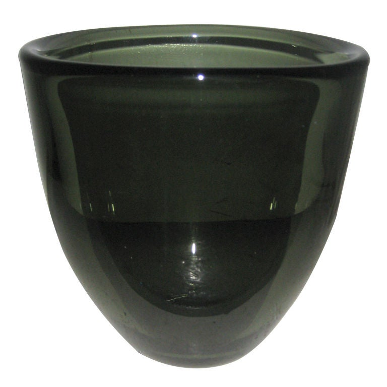 "Large and Unique ""Expo"" Vase by Sven Palmqvist for Orrefors For Sale"