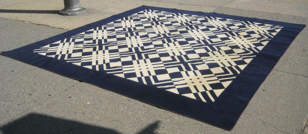 Early David Hicks Area Rug For Stark Carpet At 1stdibs