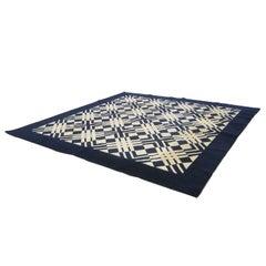 Early David Hicks Area Rug for Stark Carpet