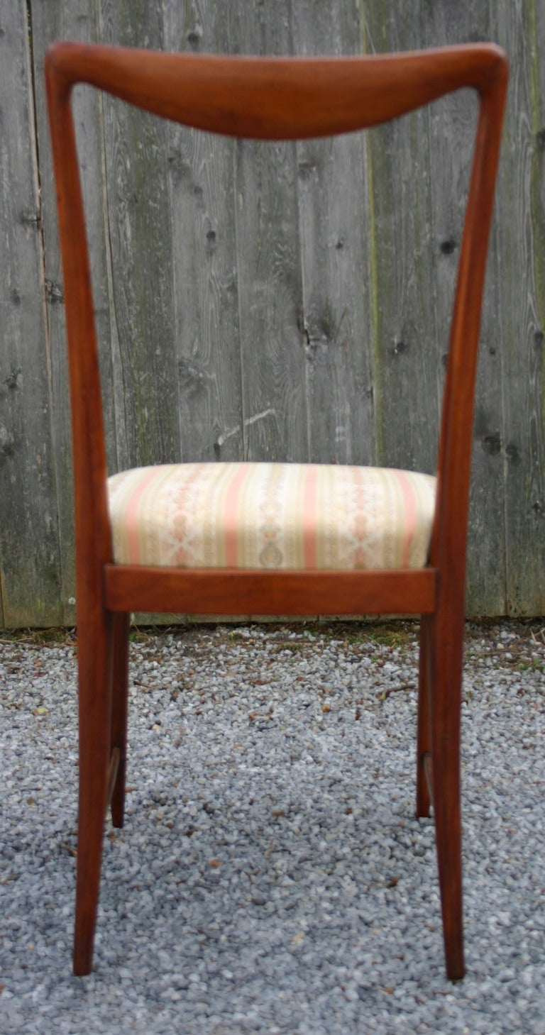 Set of Six Paolo Buffa Dining Chairs 5