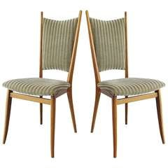 Pair Italian Side Chairs