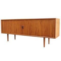 Danish Tambour Cabinet