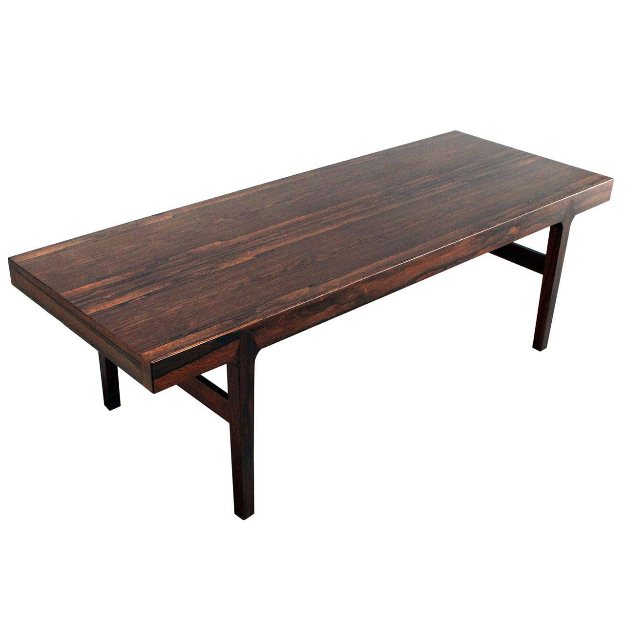 Danish Rosewood Coffee Table For Sale